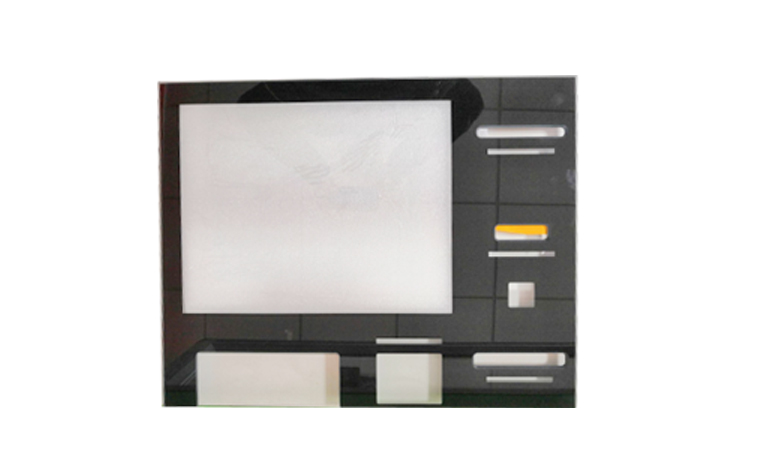 ATM machine capacitive touch panel