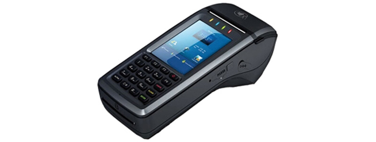 Hand-held POS terminal
